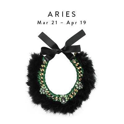 Aries Mar 21 - Apr 19 Black Swan Necklace by Ricardo Rodriguez