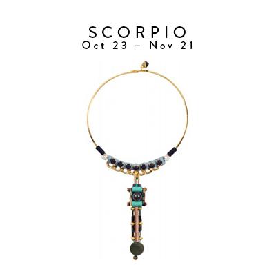 Scorpio Oct 23 - Nov 21 - Jyne Choker by Nocturne