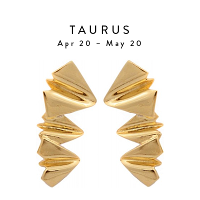 Taurus Apr 20 - May 20 Flight Earrings by Saught Made from Unexploded Ordanance (UXO)