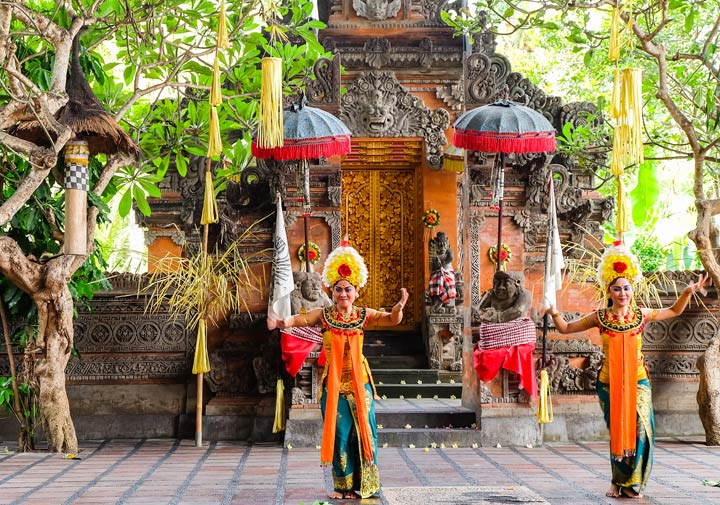 Barong Dance, Bali, Indonesia