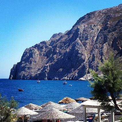 Kamari Beach, Greece
