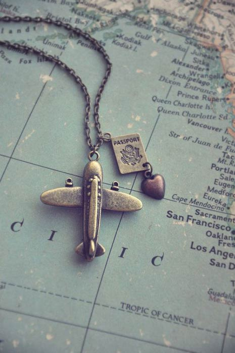 Travel with Jewellery - What to Pack - Passport, Plane Ticket